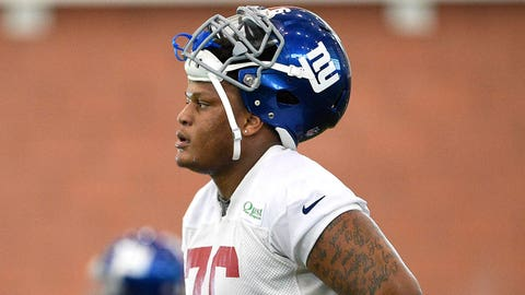 Will the Giants' offensive line remain the same?