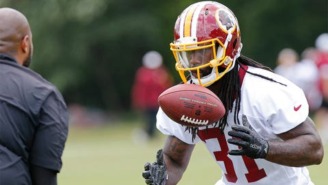 What kind of role will rookie RB Matt Jones have?