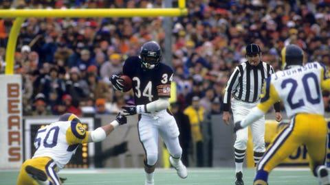 Walter Payton: Chicago Bears (1975-1987)