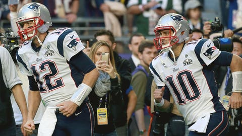 New England: How will the Pats split snaps between Tom Brady and Jimmy Garoppolo?
