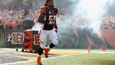 Cincinnati: How soon will weak-side linebacker Vontaze Burfict return to the field?