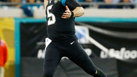 AFC SOUTH -- Jacksonville: Quarterback Blake Bortles