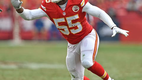 Kansas City: Outside linebacker Dee Ford