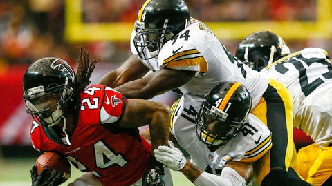 NFC SOUTH -- Atlanta: Running back Devonta Freeman