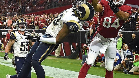 NFC WEST -- St. Louis: Cornerback E.J. Gaines
