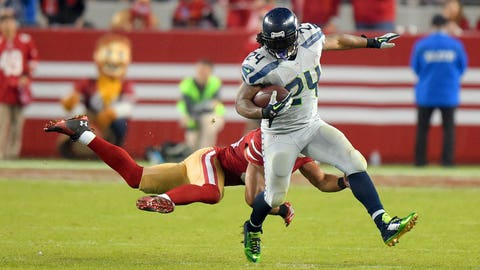 Will Marshawn Lynch start to show signs of aging?