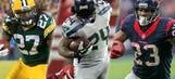 Rock the rock: NFL's top 10 running backs