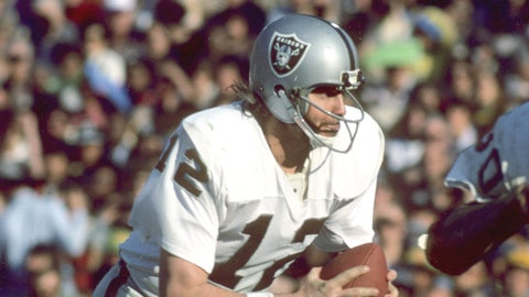 Oakland Raiders: QB Ken Stabler, second round (52 overall), 1968