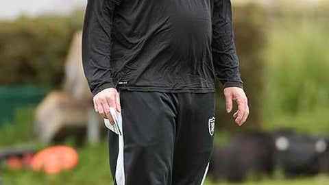 Oakland offensive coordinator Bill Musgrave