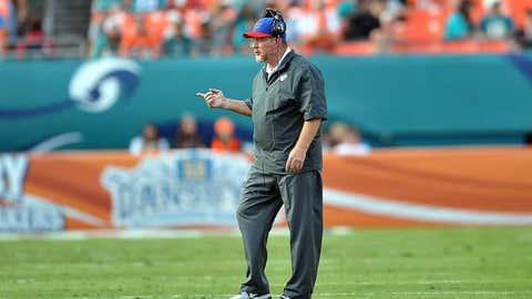 New York Jets offensive coordinator Chan Gailey