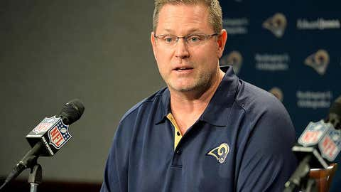 St. Louis Rams offensive coordinator Frank Cignetti
