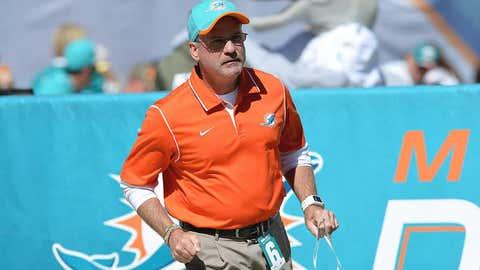 Miami defensive coordinator Kevin Coyle