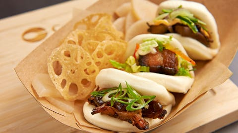 San Francisco -- Bao Sampler