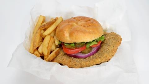 Indianapolis -- Jumbo Pork Tenderloin Sandwich