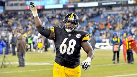 Pittsburgh tackle Kelvin Beachum ($1,542 million)