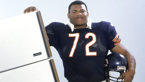 """Clemson: William """"The Refrigerator"""" Perry (former pro football player)"""