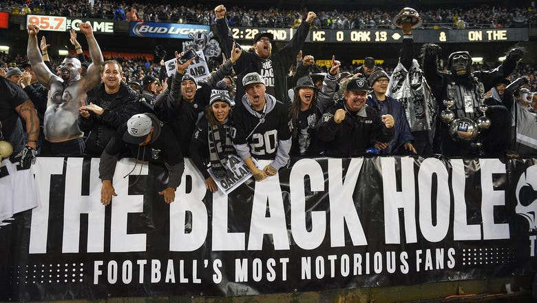 Raiders sell out season tickets despite impending move to Las Vegas
