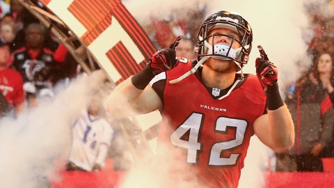 Atlanta Falcons: Patrick DiMarco, FB