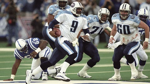 Steve McNair and the Titans