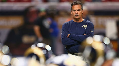 Jeff Fisher, Los Angeles Rams (Last week: 7)