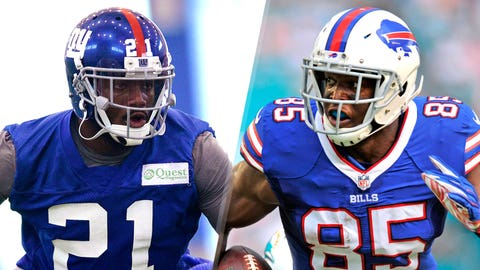 1. Giants at Bills: Charles Clay vs. Giants' ability to stop tight ends