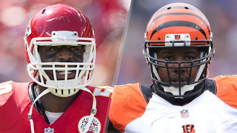 7. Chiefs at Bengals: Justin Houston vs. Andre Smith