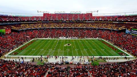 Green Bay Packers: FedEx Field (Redskins)