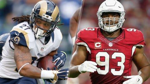 13. Rams at Cardinals: Rams rushing attack vs. Cardinals run defense
