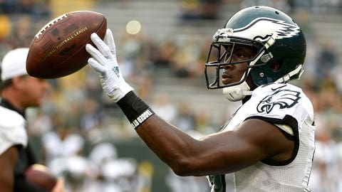 Eagles fans wouldn't have minded if the team left WR Nelson Agholor on the tarmac in Seattle