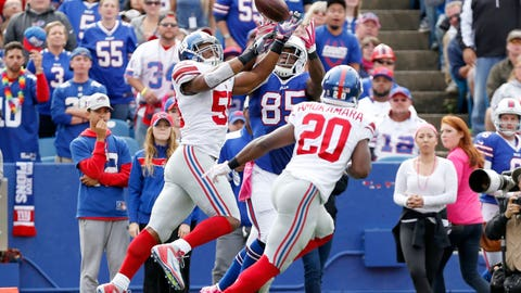 Giants defense shuts down Buffalo and Tyrod Taylor