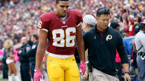 8. Washington tight end Jordan Reed