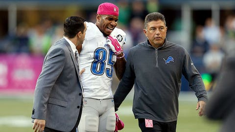 9. Detroit tight end Eric Ebron