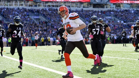 Browns get first win in Baltimore since 2007