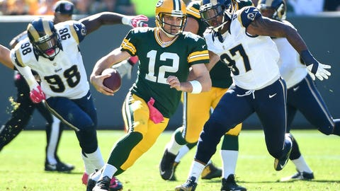 All Good Things Must End Award: Aaron Rodgers