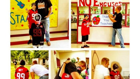 J.J. Watt Cristian robot.