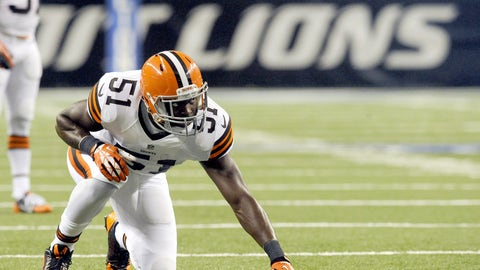 4. Cleveland outside linebacker Barkevious Mingo