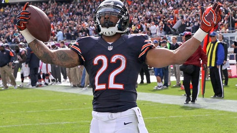 1. Chicago running back Matt Forte