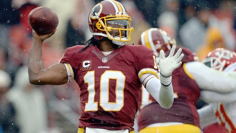 10. Washington quarterback Robert Griffin III