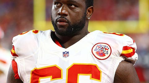 5: Kansas City left guard Ben Grubbs