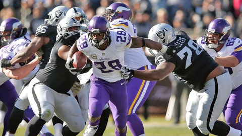 Best play of the season: Peterson's 80-yard touchdown vs. Raiders