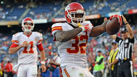 Spencer Ware vs Denver