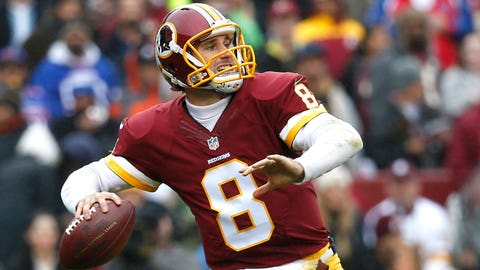 Redskins (+1) over LIONS (Over/under: 49.5)