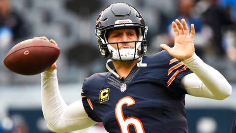 Jay Cutler to the Browns for Joe Haden and a second-rounder