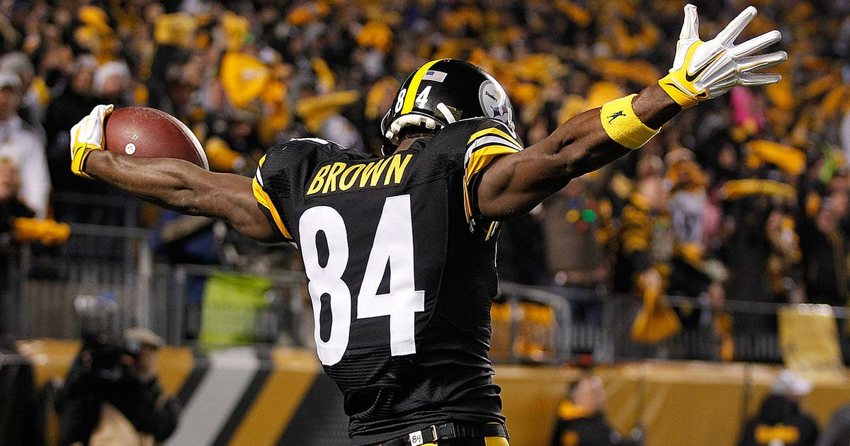 Check Out Antonio Brown S Sweet And Sour Skittles
