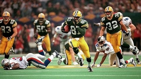 Super Bowl XXXI - Green Bay 35, New England 21