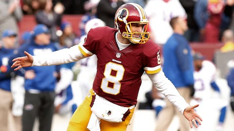 Biggest surprise player: Washington quarterback Kirk Cousins