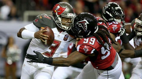 Tampa Bay Buccaneers at Atlanta Falcons. 1 p.m. on FOX (Sunday Ticket channel 709)