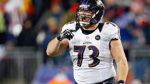 Offensive guard: Marshal Yanda, Baltimore Ravens