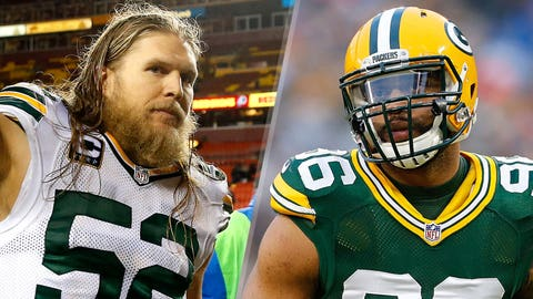 WINNERS: Clay Matthews and Mike Neal
