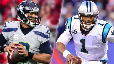 SEAHAWKS (-6.5) over Panthers (Over/under: 48)